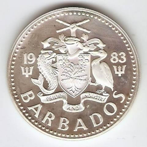 Barbados - Catálogo World Coins - KR. Nº 36 A - Numismática Vieira