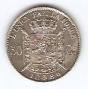 Belgica - Catálogo World Coins - KR. Nº 26