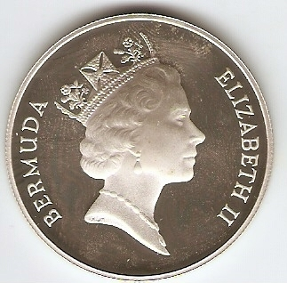 Bermuda - Catálogo World Coins - KR. Nº 49 A - Numismática Vieira