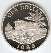 Bermuda - Catálogo World Coins - KR. Nº 55 A
