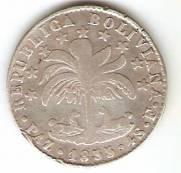 Bolivia - Catálogo World Coins - KR. Nº 125