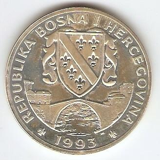 Bosnia Herzegovina - Catálogo World Coins - KR. Nº 9 - Numismática Vieira