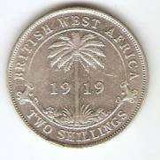 Brit. West  Africa - Catálogo World Coins - KR. Nº 13