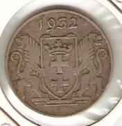 Danzig - Catálogo World Coins - KR. Nº 155