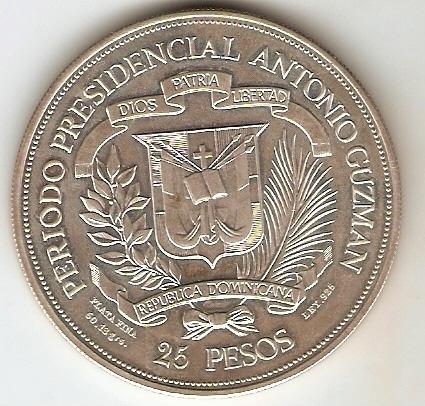 Dominica Republic - Catálogo World Coins - KR. Nº 54 - Numismática Vieira
