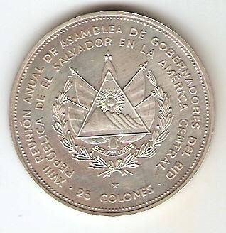 El Salvador - Catálogo World Coins -KR. Nº 151 - Numismática Vieira