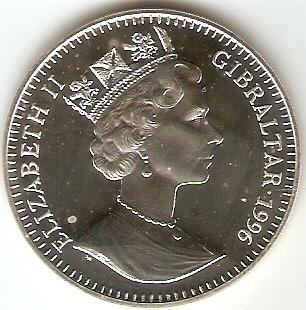 Gibraltar - Catálogo World Coins - KR. Nº 353 A - Numismática Vieira