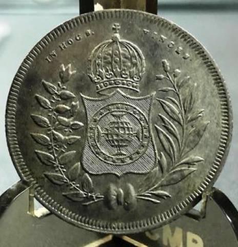 Catálogo Vieira Nº 425 - 400 Réis 1847 - Numismática Vieira
