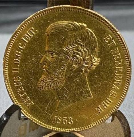 Catálogo Vieira Nº 620 - 20.000 Réis 1853 (D.Pedro II)  - Numismática Vieira