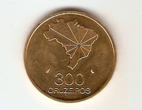 Catálogo Vieira Nº 721 - 300 Cruzeiros (Ouro) - Numismática Vieira