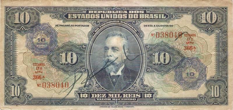 Catálogo Vieira Nº 003 - 10 Mil Réis C/C de (10 Cruzeiros) - Numismática Vieira