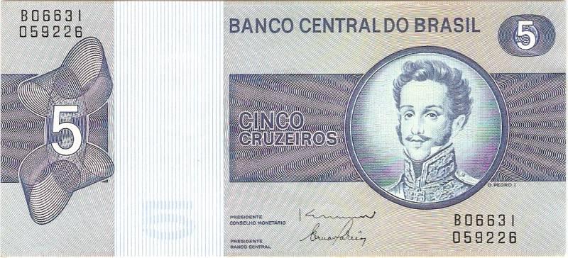 Catálogo Vieira Nº 136 - 5 Cruzeiros (D.Pedro I) - Numismática Vieira