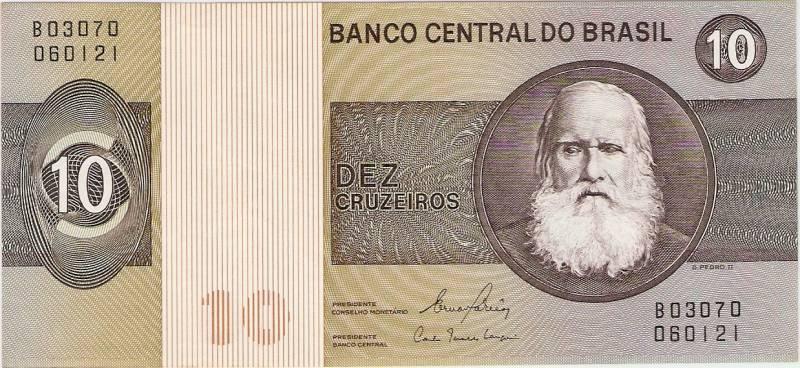 Catálogo Vieira Nº 141 - 10 Cruzeiros   (D.Pedro II) - Numismática Vieira