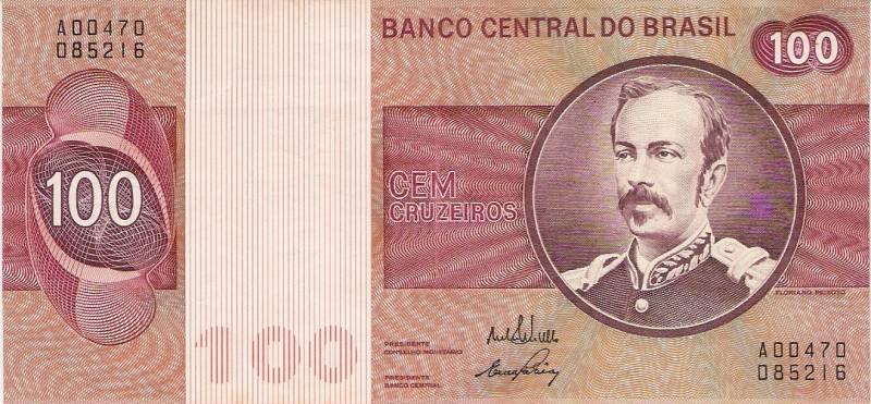 Catálogo Vieira Nº 145 - 100 Cruzeiros (Marechal Floriano Peichoto) - Numismática Vieira