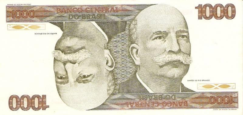 Catálogo Vieira Nº 155 - 1000 Cruzeiros  (Barão do Rio Branco) - Numismática Vieira