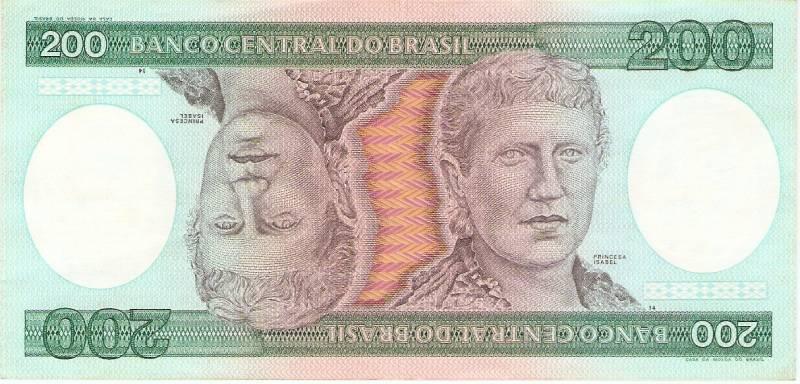 Catálogo Vieira Nº 159 - 200 Cruzeiros  (Princesa Isabel) - Numismática Vieira