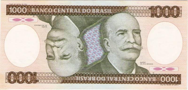 Catálogo Vieira Nº 165 - 1000 Cruzeiros (Barão do Rio Branco) - Numismática Vieira