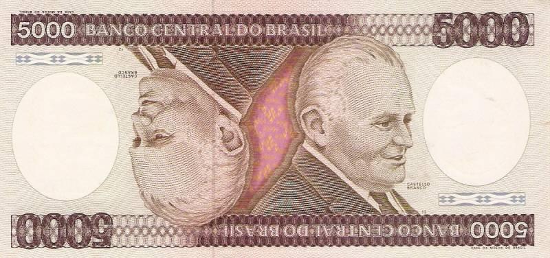 Catálogo Vieira Nº 169 - 5000 Cruzeiros (Castelo Branco) - Numismática Vieira