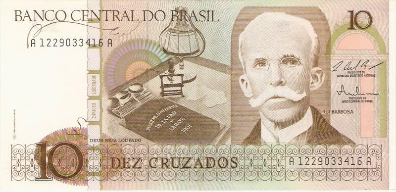 Catálogo Vieira Nº 181 - 10 Cruzados (Rui Barbosa) - Numismática Vieira