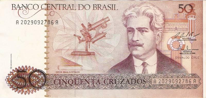 Catálogo Vieira Nº 183 - 50 Cruzados (Oswaldo Cruz) - Numismática Vieira