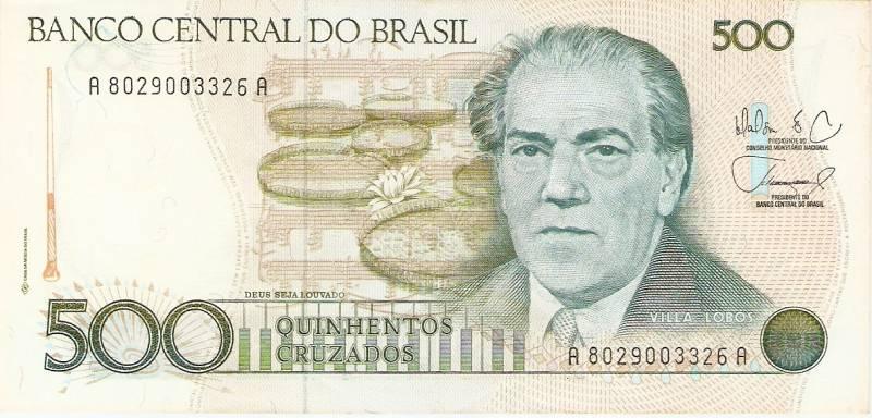 Catálogo Vieira Nº 192 - 500 Cruzados (Maestro Villa Lobos) - Numismática Vieira