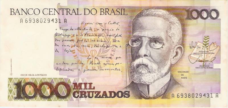 Catálogo Vieira Nº 194 - 1000 Cruzados (Machado de Assis) - Numismática Vieira