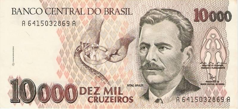Catálogo Vieira Nº 224 - 10.000 Cruzeiros  (Vital Brasil) - Numismática Vieira