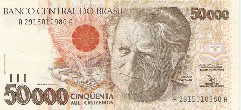 Catálogo Vieira Nº 226 - 50.000 Cruzeiros (Câmara Cascudo) - Numismática Vieira