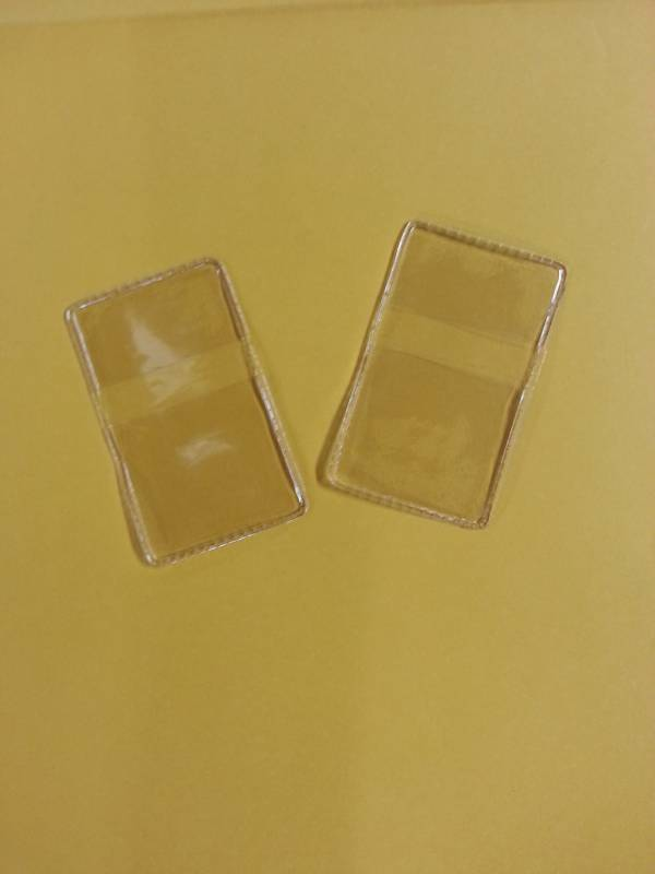 Envelope para moedas Avulso de plástico - Numismática Vieira