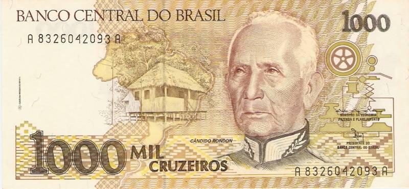 Catálogo Vieira Nº 218 - 1000 Cruzeiros (Candido Rondon) - Numismática Vieira