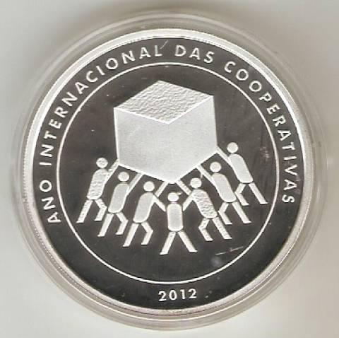 Catálogo Vieira Nº 616 - 5 reais (Comemorativa do ano Internacional das Cooperativas) - Numismática Vieira