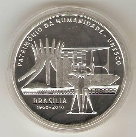 Catálogo Vieira Nº 612 - 5 Reais (Brasília - Patrimônio  da Humanidade - Unesco) - Numismática Vieira