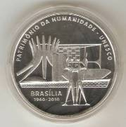 Catálogo Vieira Nº 612 - 5 Reais (Brasília - Patrimônio  da Humanidade - Unesco)
