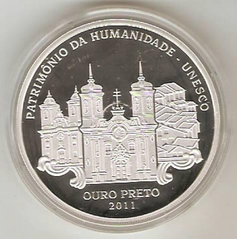Catálogo Vieira Nº 614 - 5 Reais (Ouro Preto - Patrimônio da Humanidade - Unesco) - Numismática Vieira