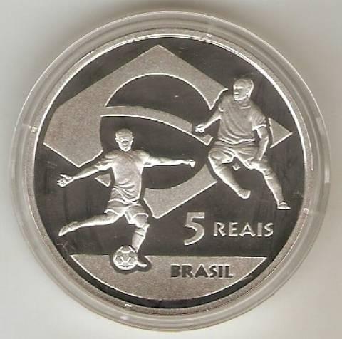 Catálogo Vieira Nº 613 - 5 Reais (Copa do Mundo da África do Sul) - Numismática Vieira