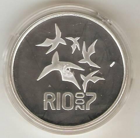 Catálogo Vieira Nº 610 - 5 Reais (Homenagem aos XV Jogos Pan-Americanos) - Numismática Vieira