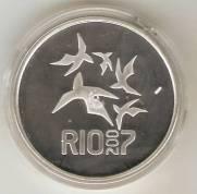 Catálogo Vieira Nº 610 - 5 Reais (Homenagem aos XV Jogos Pan-Americanos)