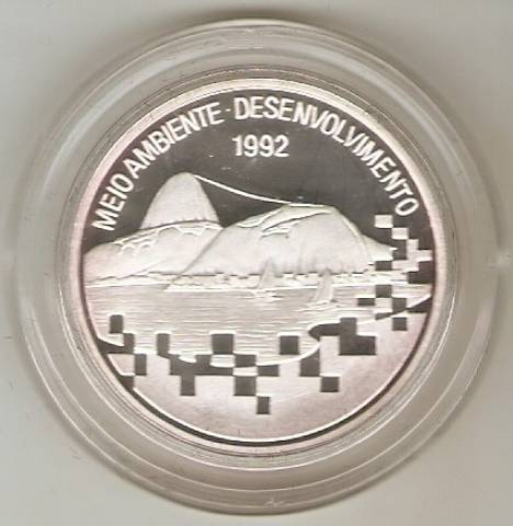 Catálogo Vieira Nº 596 - 2000 Cruzeiros (1º Conferência das Nações Unidas Sobre Ecologia)