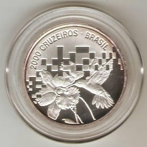 Catálogo Vieira Nº 596 - 2000 Cruzeiros (1º Conferência das Nações Unidas Sobre Ecologia) - Numismática Vieira