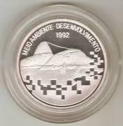 Catálogo Vieira Nº 596 - 2000 Cruzeiros (1º Conferência das Nações Unidas Sobre Ecologia) | Numismática Vieira