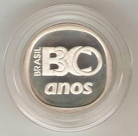 Catálogo Vieira Nº 599 - 3 Reais (30 Anos do Banco Central) - Numismática Vieira