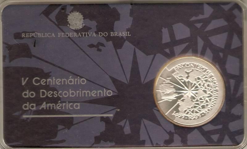 Catálogo Vieira Nº 595 - 500 Cruzeiros (5º Cent. do Descobrimento da América) - Numismática Vieira