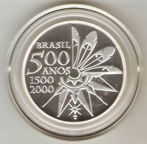 Catálogo Vieira Nº 602 - 5 Reais (Homenagem aos 500 Anos do Brasil) - Numismática Vieira