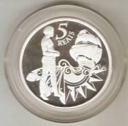 Catálogo Vieira Nº 602 - 5 Reais (Homenagem aos 500 Anos do Brasil)   Numismática Vieira