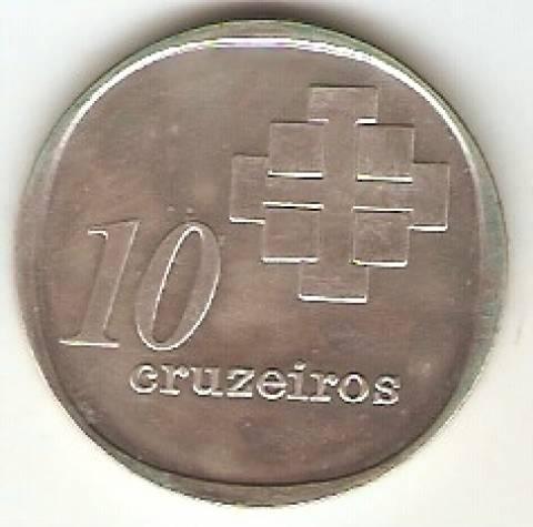 Catálogo Vieira Nº 593 - 10 Cruzeiros (Castelo Branco) - Numismática Vieira