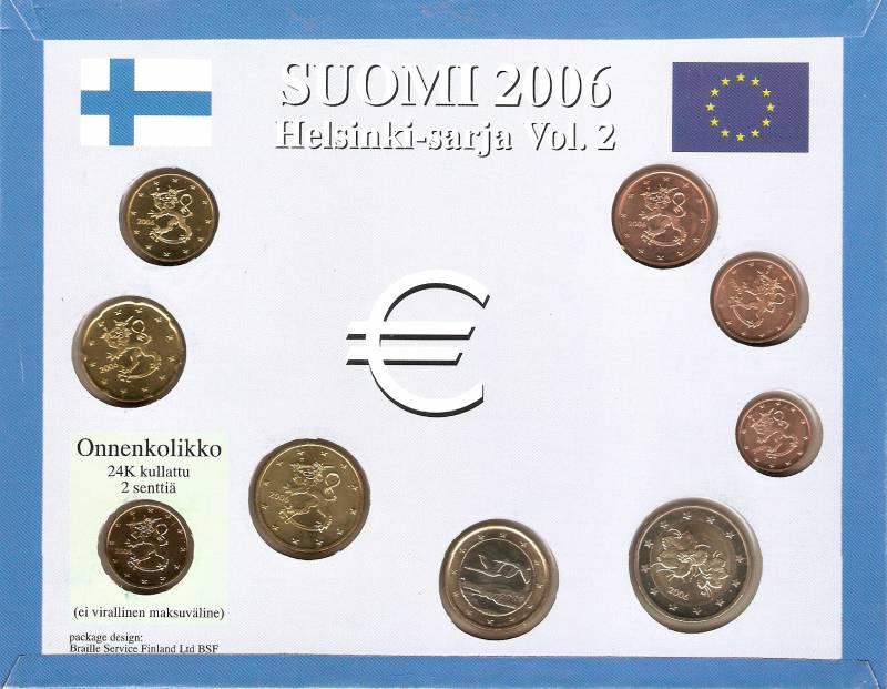 Set  Finlandia (Euro) - Numismática Vieira