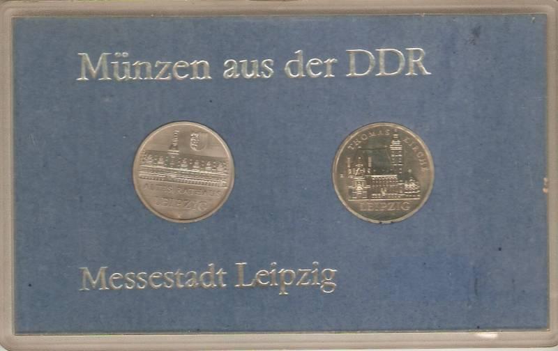 Set  Alemanha Democratica (Níquel) - Numismática Vieira