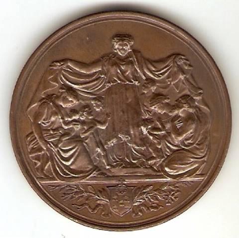 Medalha - Numismática Vieira