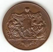 Medalha   Numismática Vieira