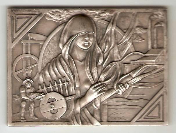 Medalha (Prata) - Numismática Vieira